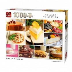 Puzzle 1000 pièces - Desserts un jeu King