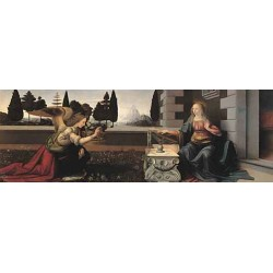 Puzzle 1000 pièces - De Vinci - Annunciazione un jeu Ricordi