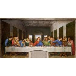 Puzzle 1000 pièces - De Vinci - Last supper un jeu Ricordi