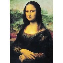 Puzzle 1000 pièces - De Vinci - Mona Lisa un jeu Ricordi