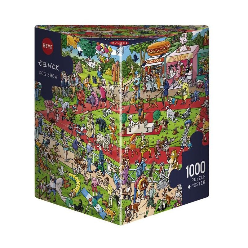Dog Show - 1000 pièces un jeu Heye