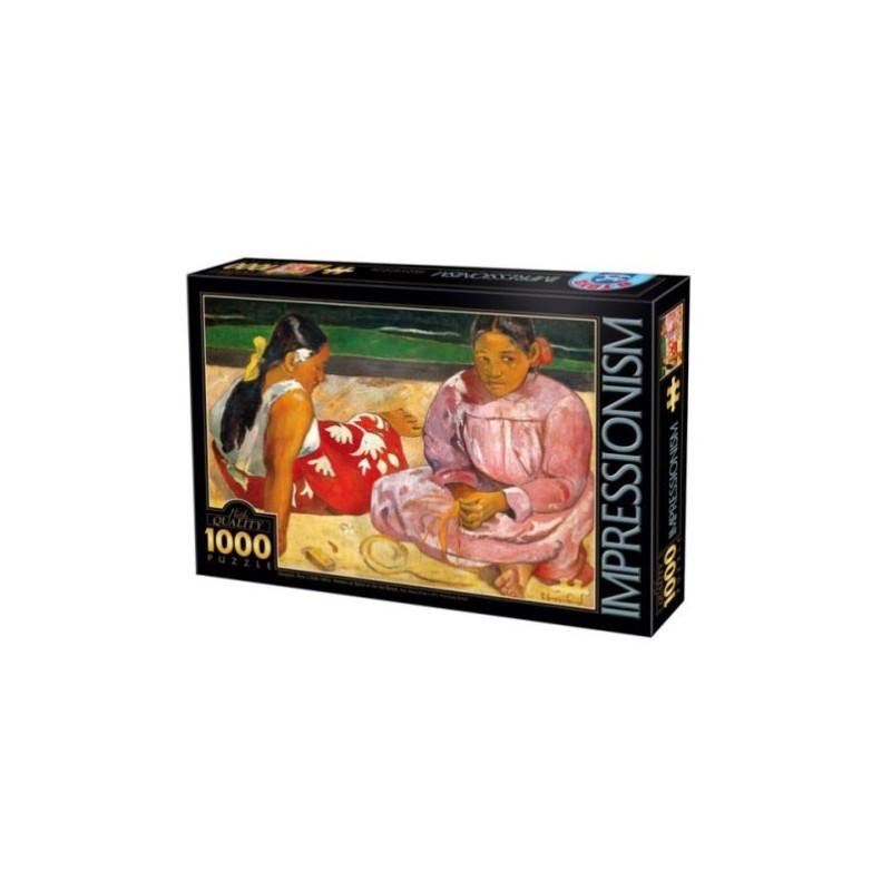 Puzzle 1000 Femmes tahiti un jeu D-Toys