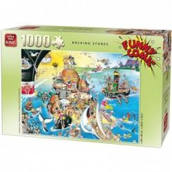 Puzzle 1000 pièces - Rocking stones un jeu King