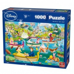 Puzzle 1000 pièces - Disney - Fun on the water un jeu King