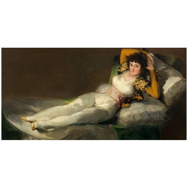 Puzzle 1000 pièces - Goya - La maya vestida 1803 un jeu Ricordi