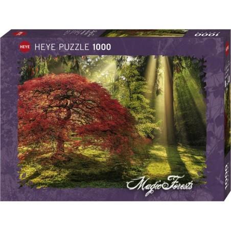 Puzzle 1000 pièces - Guiding light un jeu Heye