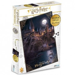 Puzzle 1000 pièces - Harry Potter - Welcome to Hogwarts un jeu ABYstyle