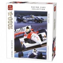 Puzzle 1000 pièces - Hommage à Ayrton Senna un jeu King