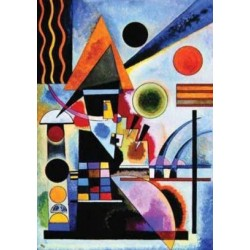 Puzzle 1000 pièces - Kandinsky - Roethel Schaukeln 1925 un jeu Ricordi