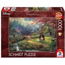 Puzzle 1000 pièces Kinkade - Mulan un jeu Schmidt