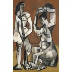 Puzzle 1000 pièces - Picasso - Femmes à la toilettes un jeu Ricordi