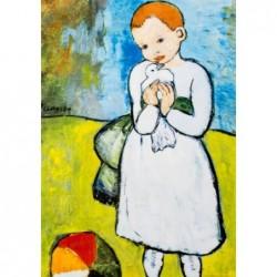 Puzzle 1000 pièces - Picasso - L'enfant au pigeon un jeu Ricordi