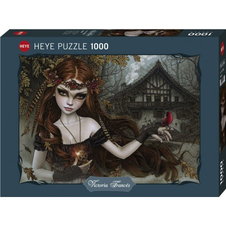 Puzzle 1000 pièces - Red Bird un jeu Heye