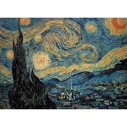 Puzzle 1000 pièces - Van Gogh - Nuit étoilée un jeu Ricordi