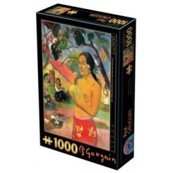 Puzzle 1000 - Gauguin - Where are you going un jeu D-Toys