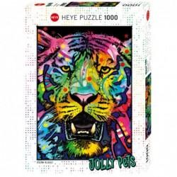 Puzzle 1000 Wild Tiger un jeu Heye