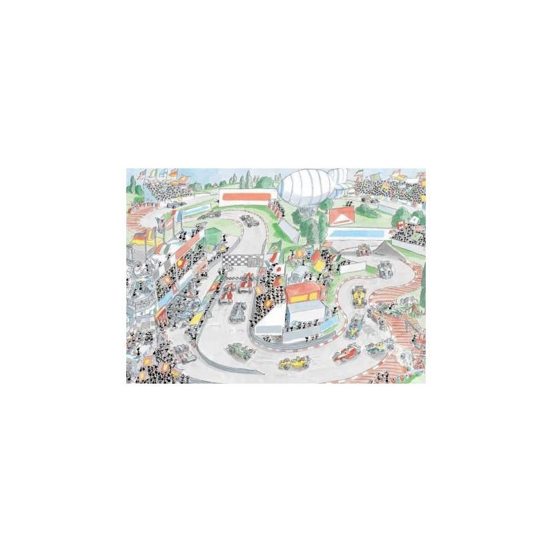 Puzzle 1080 pièces - Formule 1 un jeu Akena