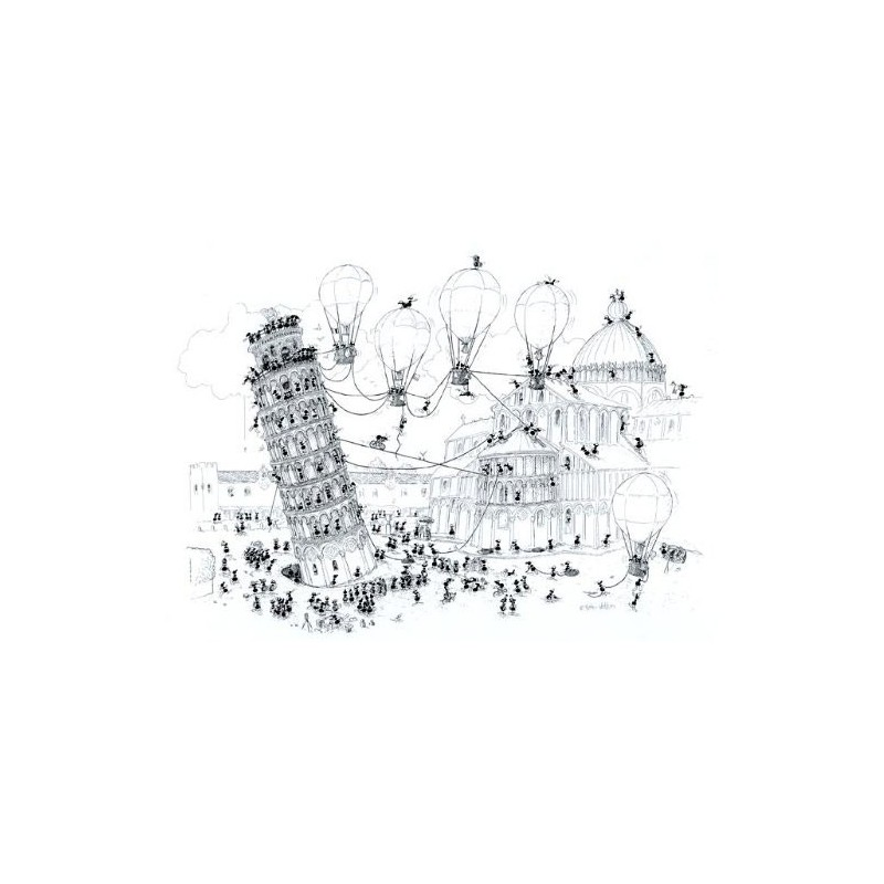 Pise - 1080 pièces un jeu Akena