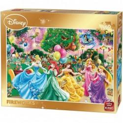 Puzzle 1500 pièces - Disney Feux d'artifice un jeu King