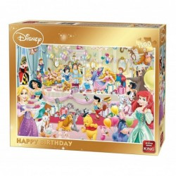 Puzzle 1500 pièces - Happy Birthday un jeu King