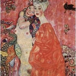 Puzzle 1500 pièces - Klimt - Die freundinnen 1916 - 17 un jeu Ricordi