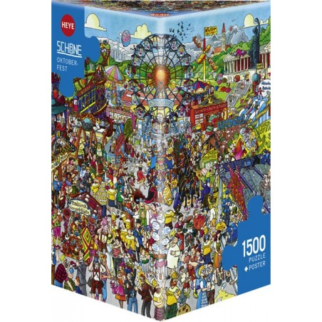 Puzzle 1500 - Schone - Oktoberfest un jeu Heye