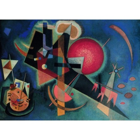 Puzzle 2000 pièces - Kandinsky - Im blau un jeu Ricordi