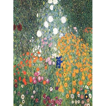 Puzzle 2000 pièces - Klimt - Flower Garden un jeu Ricordi