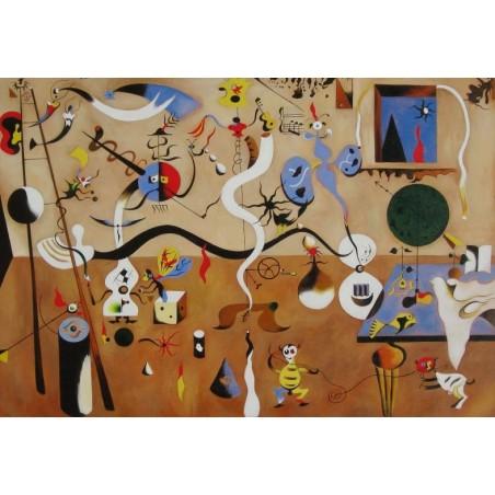 Puzzle 2000 pièces - Miro - Carnaval d'Arlequin un jeu Ricordi
