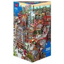 Puzzle 2000 pièces - Sherlock and co un jeu Heye