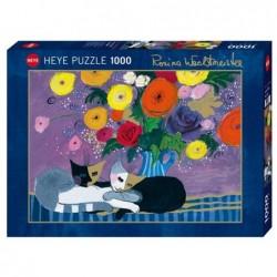 Puzzle 1000 - Wachtmeister - Sleep well un jeu Heye