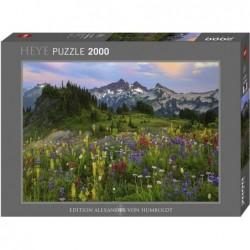 Puzzle 2000 pièces - Tatoosh Mountains un jeu Heye