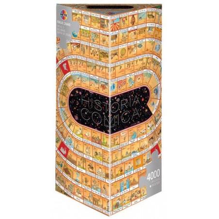 Puzzle 4000 pièces - La spirale de l'Histoire - Opus 2 un jeu Heye