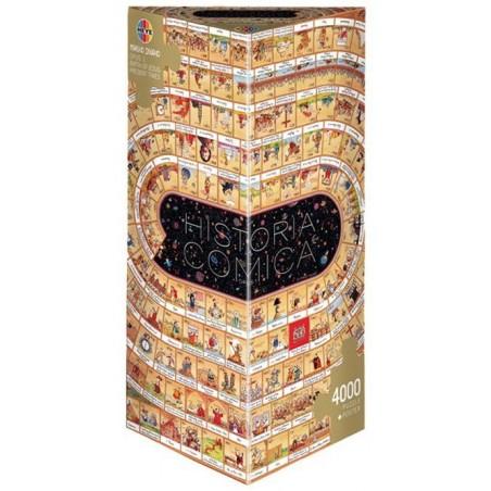 Puzzle 4000 pièces - Historia Comica Opus 1 - Degano un jeu Heye