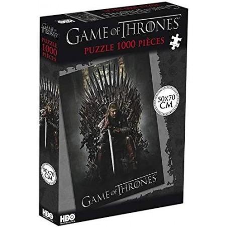 Puzzle Trone de Fer 1000 pièces un jeu Autre