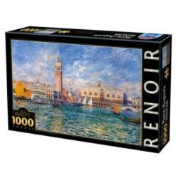 Puzzle 1000 pièces - Renoir - Palace Venise un jeu D-Toys
