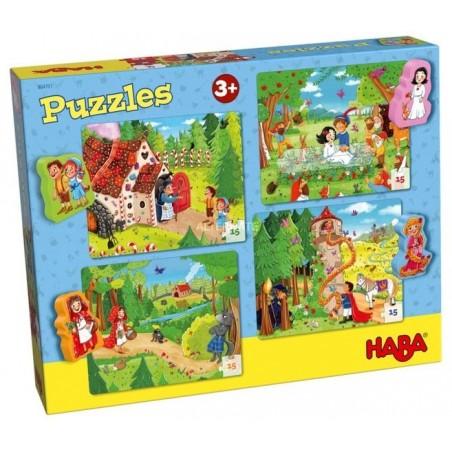 Puzzle 15 pièces Contes de fées un jeu Haba