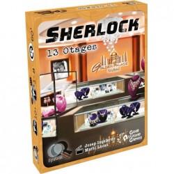 Q-System Sherlock : 13 Otages un jeu Geek Attitude Games