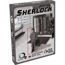 Q-System Sherlock : Qui est Vincent Leblanc ? un jeu Geek Attitude Games