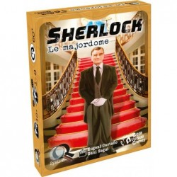 Q-System Sherlock : Le majordome un jeu Geek Attitude Games