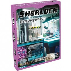 Q-System Sherlock : Propagation un jeu Geek Attitude Games