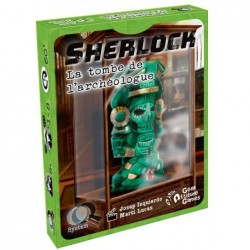 Q-System Sherlock : La tombe de l'archéologue un jeu Geek Attitude Games