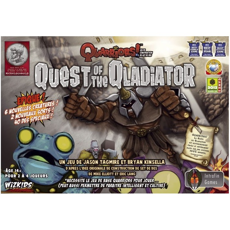 Quarrior - Quest for the Qladiator un jeu Wizkids