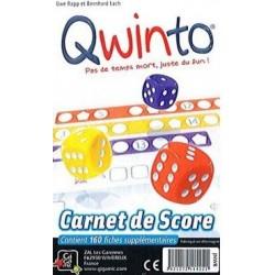 Qwinto - Recharge Bloc de score un jeu Gigamic