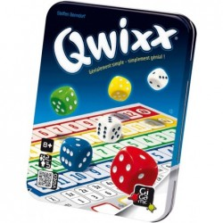 Qwixx un jeu Gigamic