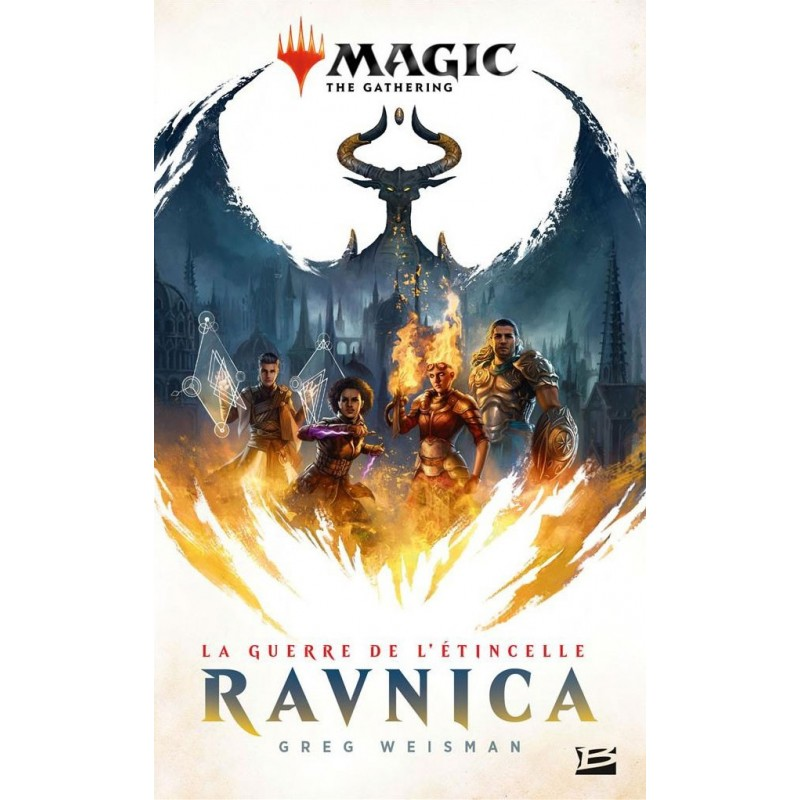 Ravnica : La Guerre de l'étincelle Version Poche un jeu Bragelonne