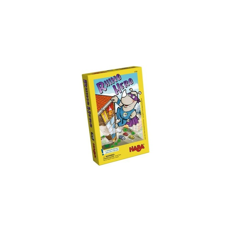 Rhino Hero un jeu Haba
