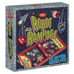 Robot Rampage (passe trappe) un jeu Professor Puzzle