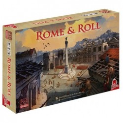Rome and roll un jeu Super Meeple