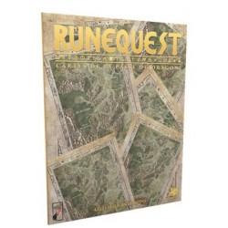 Runequest - Les cartes de la passe du Dragon un jeu Studio Deadcrows